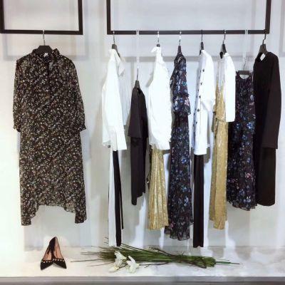 梦莎奴19春高端精品欧美连衣裙品牌折扣女装加盟厂家直供货源