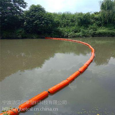 湖面拦污排设备拦截水浮莲设备厂家