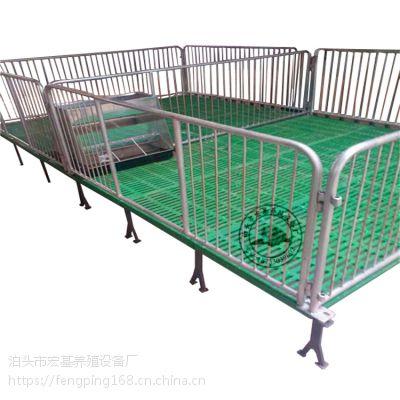 新型整体复合小猪保育床双体高培产仔栏养猪设备厂家冯平供应