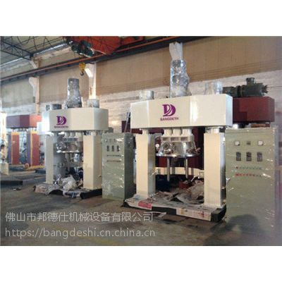 邦德仕小型硅酮胶生产线 1100L硅酮胶基料搅拌机 600L强力分散机 化工行业设备 值得信赖