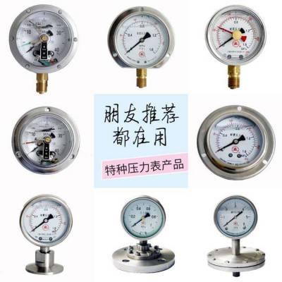 雪浪特种压力表系列-耐震压力表|电接点压力表|真空压力表|不锈钢压力|数字压力表|隔膜压力表