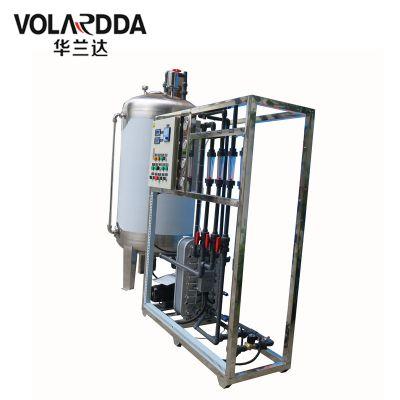 地下水怎么可以净化为电导率为15-18兆欧的超纯水?华兰达专业制造双级反渗透+EDI装置