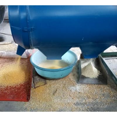 高产量苞米制糁机 玉米磨面脱皮制糁机厂家 富鑫机械