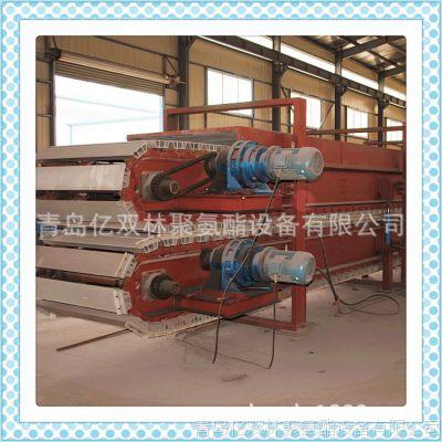 供应 聚氨酯发泡机复合夹心板材防火板防阻燃生产线