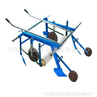 人力覆膜机全自动挂膜机手拉式地膜机现货直销批量供应