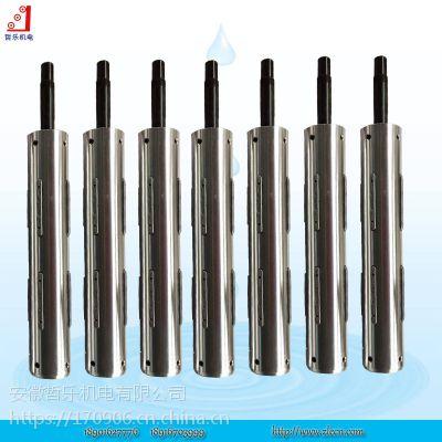 键式气涨轴 安徽厂家供应气胀轴 凸键式充气轴 ZLE轴