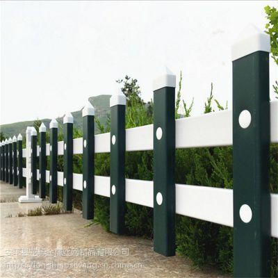 合肥PVC草坪护栏 花坛隔离栏 城市绿化带栏杆