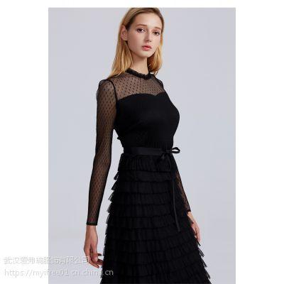 开服装店需要在哪里拿货维杰妮复古弹力背带裙