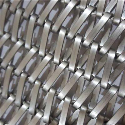 金属圆环装饰网 螺旋装饰网 不锈钢金属环网 规格定做