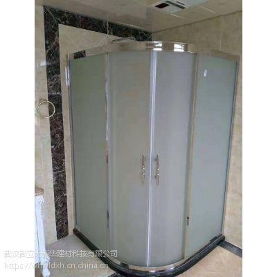 武汉淋浴房玻璃隔断 办公室玻璃隔断 公共卫生间厕所隔断厂家