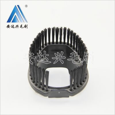 安达兴 吸尘器毛刷头 异形定做植毛 吸尘器毛刷配件加工 自动扫地机毛刷