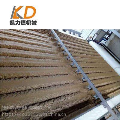 压榨脱水式泥浆处理设备 带式泥浆浓缩脱水机 投资小见效快