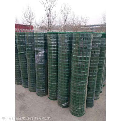 园林铁网围栏一捆多少米 都有哪些规格网围栏 绿色荷兰网养殖用
