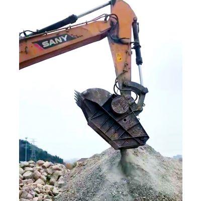 三一215挖掘机破碎斗价格实惠 破碎水泥块量大从优
