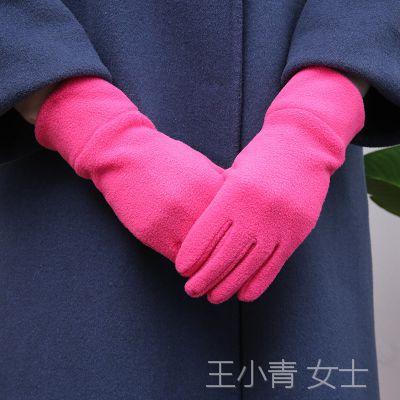 天天韩版休闲手套 户外骑行加厚男款 摇粒绒保暖手套 可定制LOGO