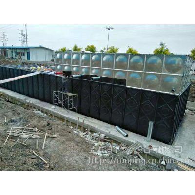 新型抗浮式地埋箱泵一体化 地埋水箱