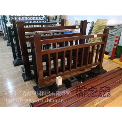 仿木纹栏杆供应 仿木纹玻璃钢护栏报价