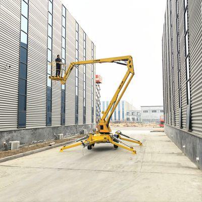 厂家直销LZZB18米折臂式升降机 旋转式电动液压升降登高车