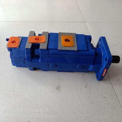 四联齿轮油泵厂家 三联齿轮泵厂家 金科钻机三联泵 宣化钻机四联泵