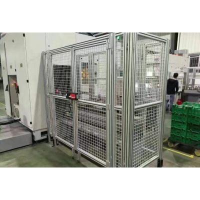 机械安全围栏铝合金型材按需定制