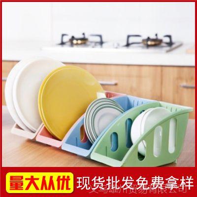 【现货批发】厨房用品碗碟收纳架 盘子碟子锅盖餐具整理架置物架