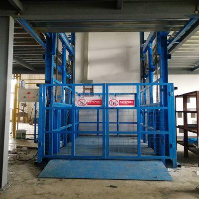 雅安升降货梯厂家 根据现场环境定做液压升降机 厂家直销