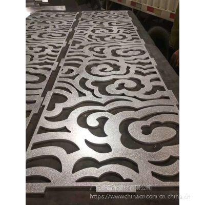 商铺门头雕刻铝单板 广州镂空铝板定制 门口镂空铝板