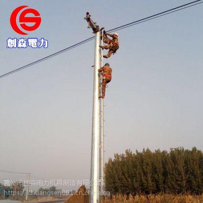 电力钢杆打桩 电力钢杆生产厂家