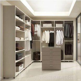 【招商加盟】广州尚居爱格板 UV简易板橱柜 创意实木整体衣柜定制