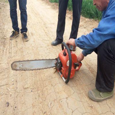 链条高质量链条刨树机 树木移植挖根机 手提70导板挖树机