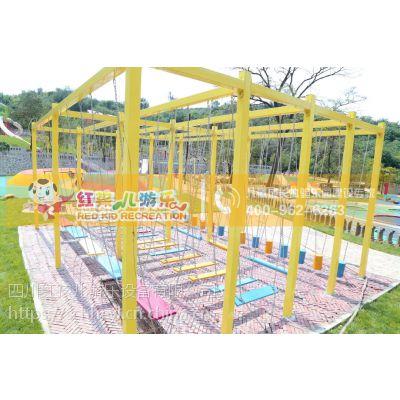 四川红孩儿游乐户外无动力儿童乐园趣味探索平衡游乐设施整体规划定制厂家直销