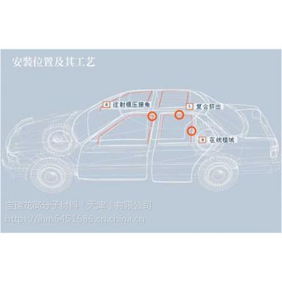 宝瑞龙TPV在车窗密封条之 车窗玻璃导槽密封条上的应用