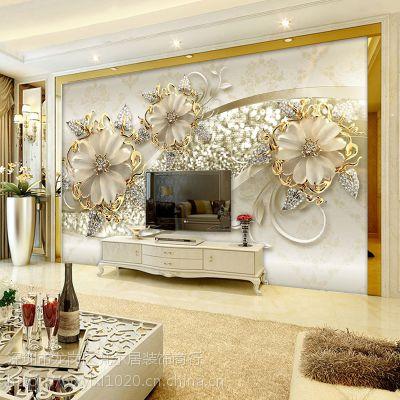 梵尔居无纺布8d电视背景墙壁纸5D凹凸简约现代欧式客厅大气影视墙布3d墙纸壁画