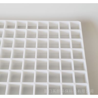 ABS塑料白色格栅片,工程PC亚克力网格板,PVC食品级PP环保高级塑料