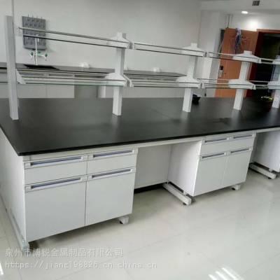 厂家生产定制实验桌实验室钢木实验台 实验室工作中央台批发