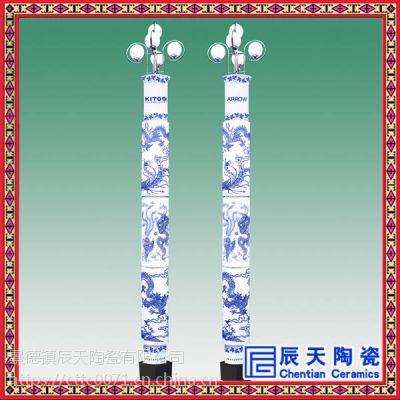 户外景观灯庭院灯2米3米3.5米方灯景观灯柱圆柱LED小区道路园林灯
