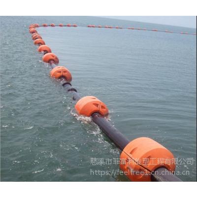 菲富利LLDPE定做塑料浮箱,海上长江滚塑浮球