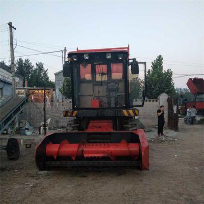 菏泽剪刀式秸秆青储机 棉杆粉碎机 油葵收集机 铡草机