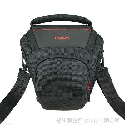 厂家批发定制佳能相机包防水单反包小型三角包单肩斜跨摄影包
