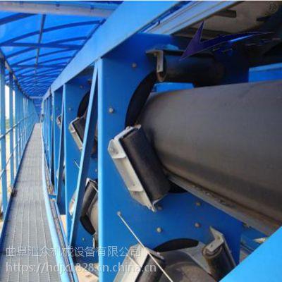 圆管带式输送机输送各种块状物料 来图生产