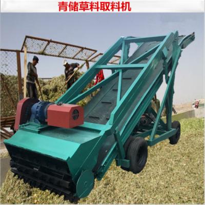 牛羊场专用扒草车 全自动青贮取草机 陪伴牛儿成长的取料机
