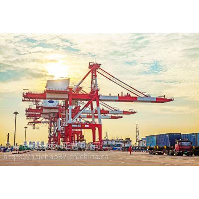 河北霸州到广东中山海运内贸快船运输价格
