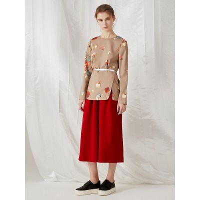 高端品牌女装折扣精品时装货源简单大气大版现货