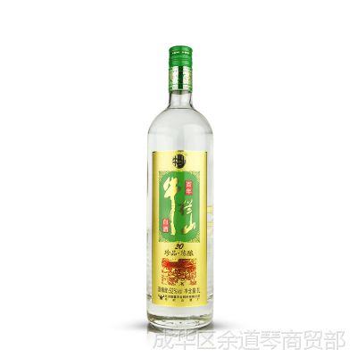 牛栏山 二锅头 珍品 陈酿 20年 52度土豪金 1000ml 浓香型 白酒