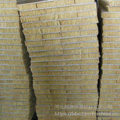 山西朔州50mm厚机制岩棉砂浆复合板出厂价格