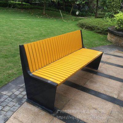 全304不锈钢排椅公园长椅靠背休闲长椅别墅公馆户外躺椅