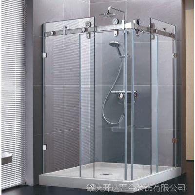 即施妥品牌厂家 浴室玻璃连接件 淋浴房移动门五金配件