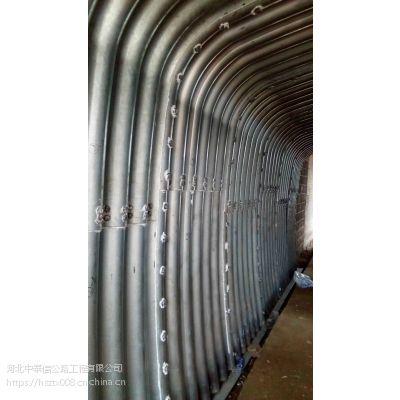 邯郸直径6米钢波纹管涵施工 钢制波纹管型号 涵洞排水管道