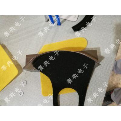 赛典专业生产 超声波太空棉,太空层,空气棉,空气层布料面料压边机