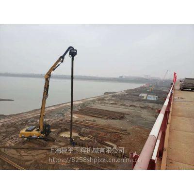 江苏南通DAEWOO打桩机租赁南通拉森桩钢板桩水泥桩河道围护打拔拔桩清障工程